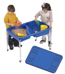Childrens Factory 18 Tall Neptune Sensory Table With Lid By