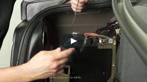bavsound bmw dsp adapter installation for soundplicity kits on vimeo
