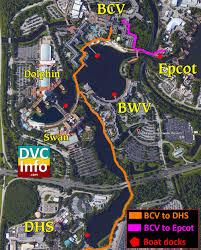Disney Resorts Map Disney U0027s Beach Club Villas Dvcinfo Com