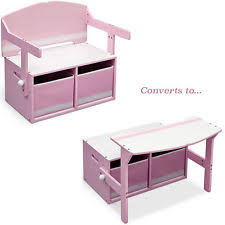 Desk Organiser For Kids Pink Desks For Children Ebay