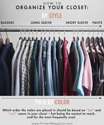 How To Organise Your Closet 9 Closet Organization Ideas To Tame Your Wardrobe Primer
