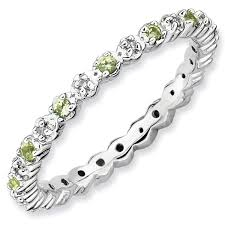 stackable mothers rings mothers rings birthstones tiny diamonds eternity ring