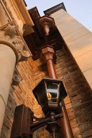 copper gutters and downspouts copper gutters half