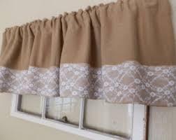 White Lace Valance Curtains Lace Valance Etsy