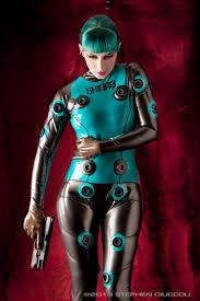 Gillian Anderson Latex - futurama was a great show funny