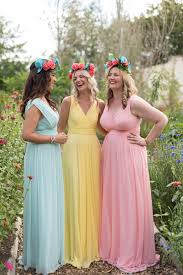 beautiful mix and match spring bridesmaid dresses ideas
