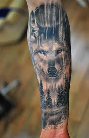 Forearm Wolf - amazing forearm wolf tattoos for tattoos wolf