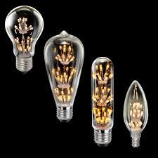 le glã hbirnen design led rustic carbon lightbulb candles edison form e27 e14