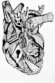 best 25 human heart drawing ideas on pinterest human heart
