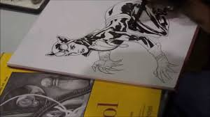 yanick paquette drawing sketching catwoman youtube