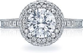 tacori halo engagement rings tacori channel set halo engagement ring ht2517rd