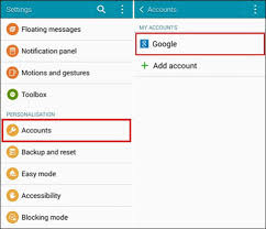remove account android how to remove account from android phone