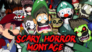 luigikid scary horror game montage halloween 2016 special