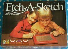 vintage retro boxed 80 u0027s etch a sketch game toy view more on