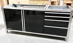 kitchen sink and cabinet unit custom sink unit designed for garage cabinets vault custom