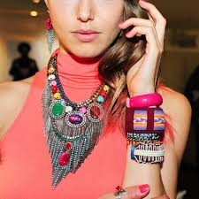 men with red fingernails and curlers in hair best manicure and arm candy combos beautylish