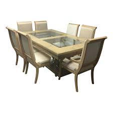 drexel heritage dining table seven chairs design plus gallery