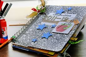 make a photo album make a cinch bound memory album with recycled school supplies