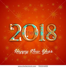 best new year cards decorative 2018 happy new year card stock illustration 701024800