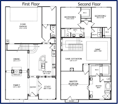 Home Plans With Rv Garage by Two Story Garage Home Plans