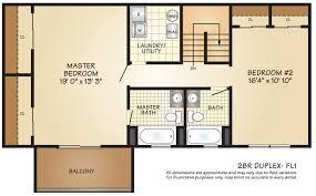 2 Bedroom Duplex Plans Apartments For Rent In Woodbridge Township Nj Hillside Gardens