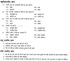 ncert solutions for class 7 hindi chapter 16 भ र और बरख