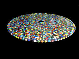 Lazy Susan For Outdoor Patio Table by Large Mosaic Stained Glass Outdoor Patio Table Lazy Susan Custom Order