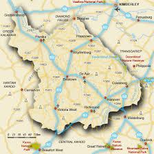 africa map kalahari map of karoo karoo map south africa