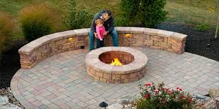 Backyard Stone Fire Pit by Garden Patio U0026 Brick Stone For Outdoor Living Ep Henry Fire