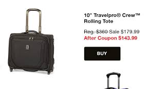 travelpro luggage outlet falling prices save 20 during our fall