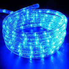 25ft led rope lights indoor outdoor home 110v