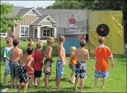 dunk booth rental dunk tank party rental beringer party rentals pittsburgh pa