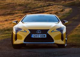 lexus cars exeter lexus lc coupe review summary parkers
