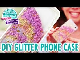 Challenge Water Filled Diy Liquid Glitter Iphone Make Your Own Water Filled Phone