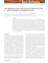 Food Runner Job Description For Resume by Pan European Soil Erosion Risk Assessment Pesera Esdac