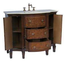 42 Bathroom Vanity Cabinet by Adelina 42 Inch Vintage French Bathroom Vanity