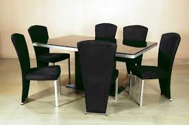 Contemporary Modern Dining Room Chairs Black Modern Dining Table