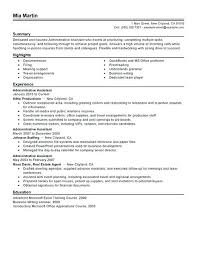 Administrative Assistant Resume Objectives Sample Administrative Assistant Resume Objective Successful