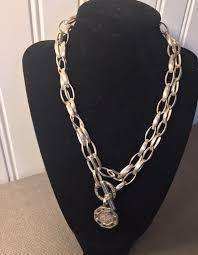 necklace diamond ebay images Slane slane 925 silver diamond toggle necklace diamond bee jpg