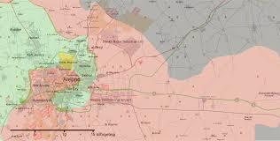Aleppo Syria Map by Conflict Urbanism Aleppo