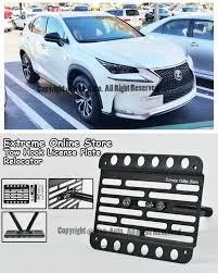 lexus accessories license plate eos front tow hook license plate bracket for 15 up lexus nx200t
