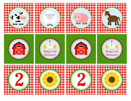 farm cake toppers 617 best birthday images on party printables
