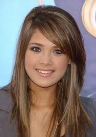 layered long hairstyles with side bangs hairstyle for women man