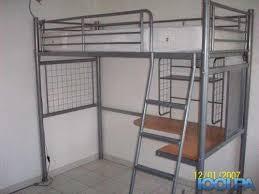 lit mezzanine avec bureau intégré mobilier table lit mezzanine bureau conforama