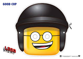 the lego movie good cop mask and a whole lot more including