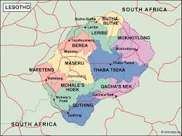 South Africa Political Map by Lesotho Political Map Vector Eps Maps Eps Illustrator Map Our