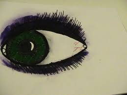 sketched eye by tbffneea on deviantart