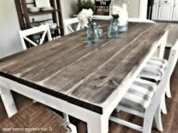 White Dining Room Table And 6 Chairs Build A Rustic Dining Room Table Stone Top Table Blue And White