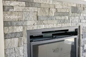 fireplace stone diy stone fireplace with airstone binkies and briefcases