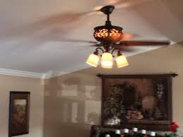 Uplight Ceiling Fans by Hampton Bay Ponte Vecchio 54 In Natural Iron Ceiling Fan Ac434 Ni